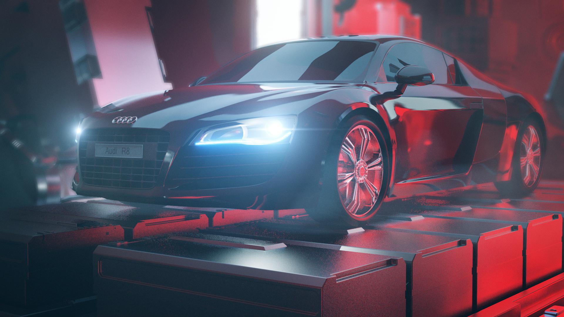 Audi R8 Regeneration