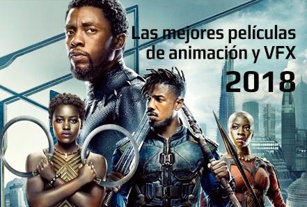 mejores peliculas animacion vfx 2018 black panther